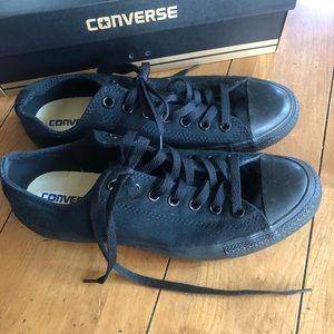 Black Converse All-Stars